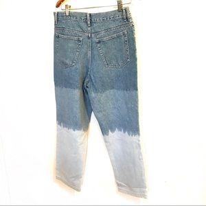 Vintage hombre wash Boyfriend jeans
